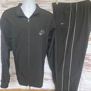 Sz XXL Nike Track pants/Jacket/suit/Black